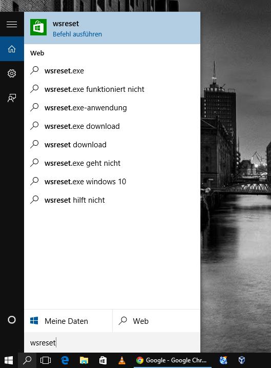 Windows 10 Tipp: Probleme mit den Windows Store Apps? Löschen des Store Cache kann helfen.