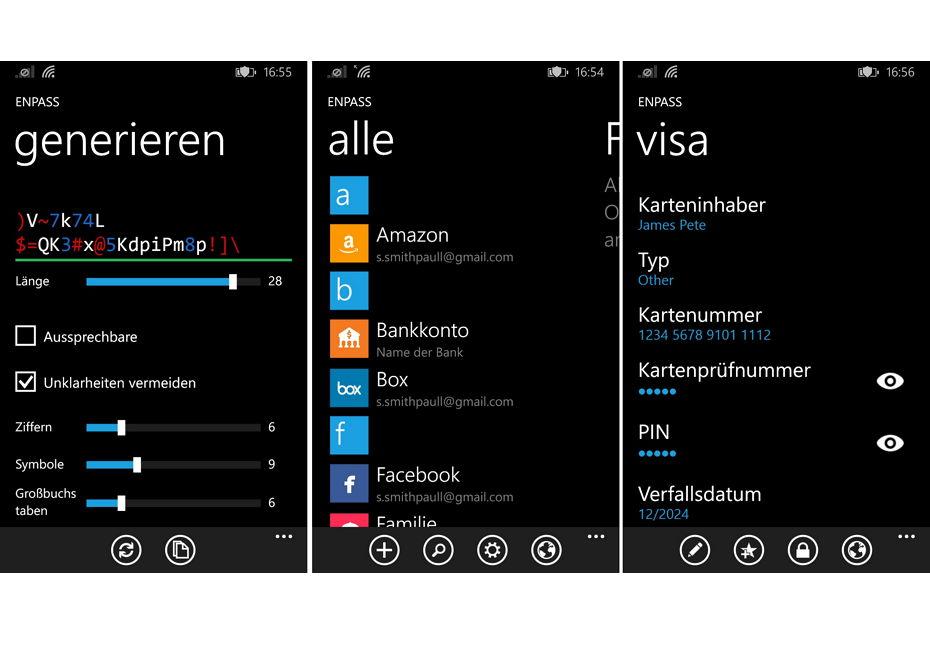 App des Tages: Enpass – Passwörter generieren, speichern und verschlüsseln