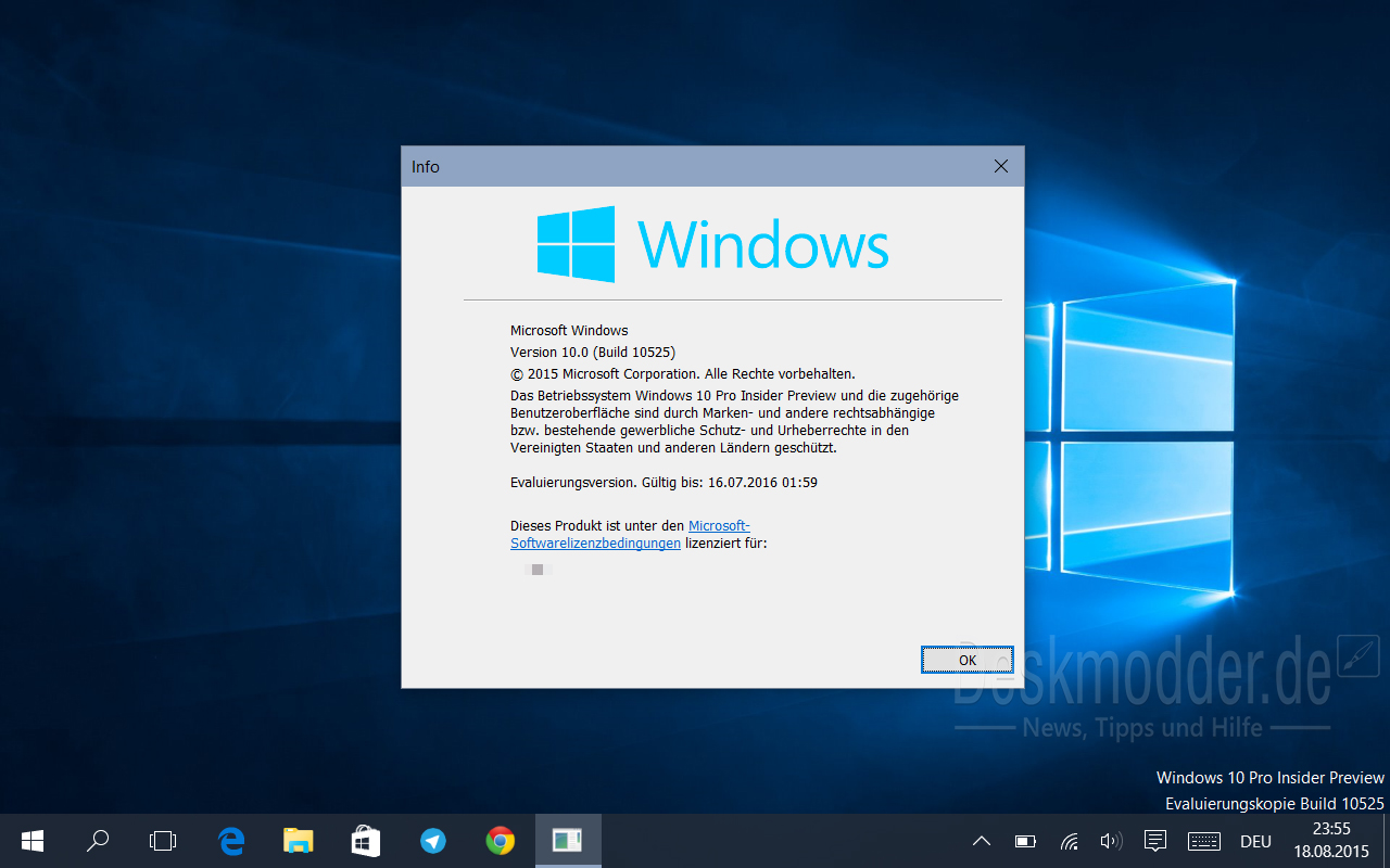 Galerie: Windows 10 Insider Preview Build 10525