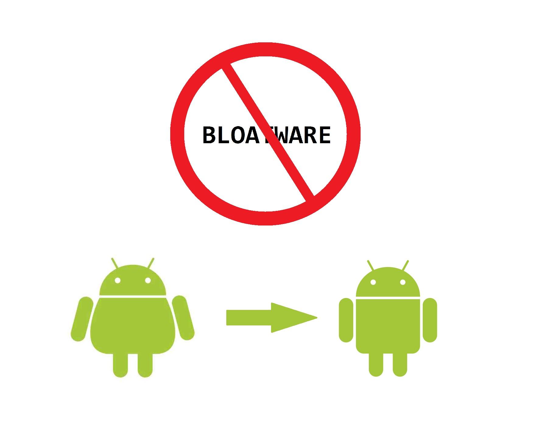 Weniger Bloatware auf Android-Geräten