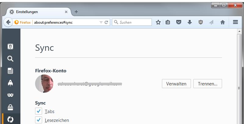 Profilbild Firefox Avccount