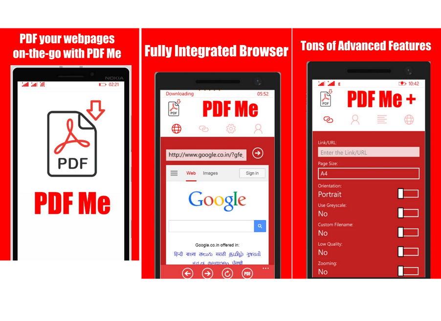 App des Tages: PDF Me + – Jede interessante Webseite als PDF-Datei speichern