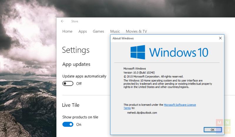 Windows 10: Windows Store bekommt Update und bringt optionale App-Updates für User der Home-Version mit