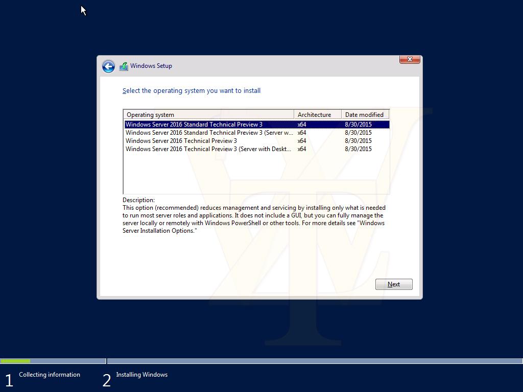 Windows Server 2016 Technical Preview 3 Build 10537 – Screenshots geleakt