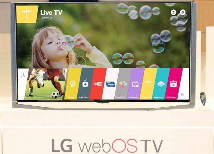 Webos 35 Lgs Kommende Smart Tv Plattform Wird Auf Der Ces Gezeigt