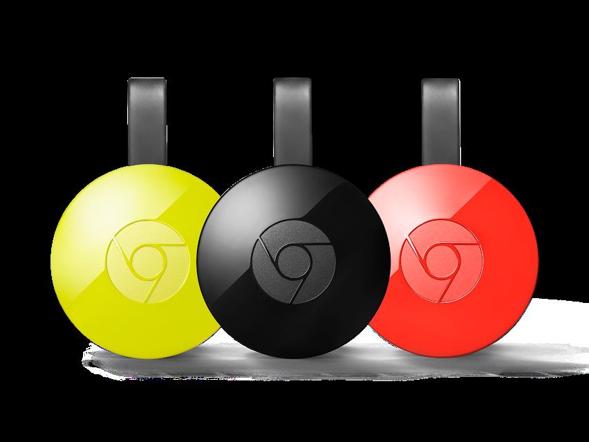 Chromecast wird in Chrome integriert
