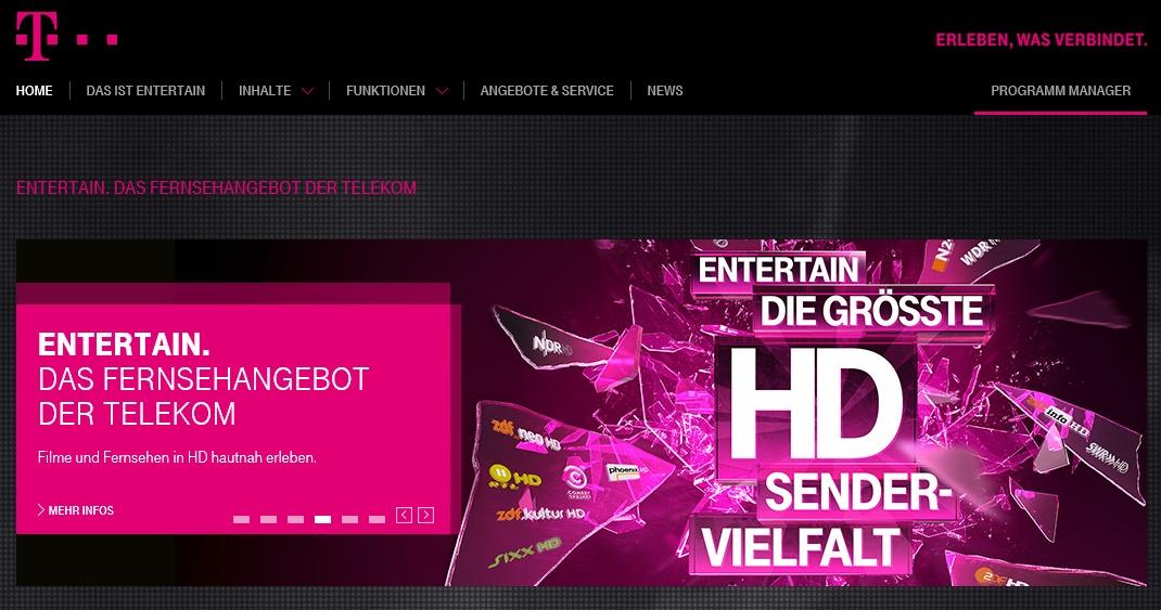 Telekom Entertain Login