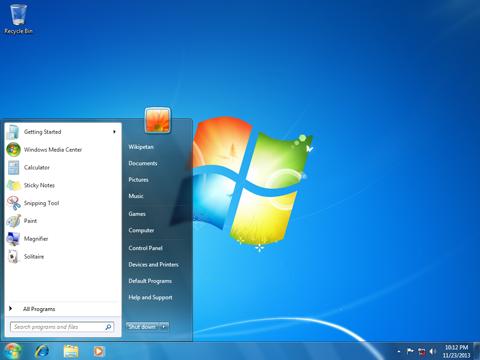 Microsoft macht Windows 7 madig