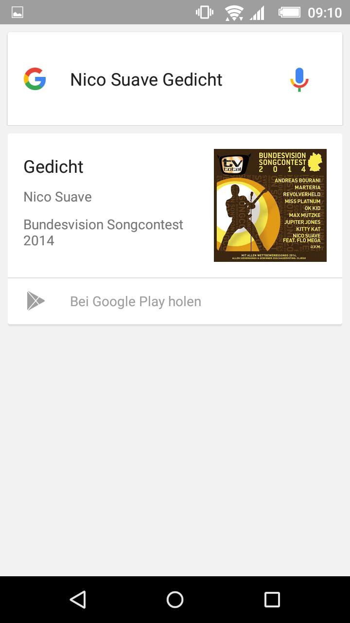 google musik erkennen