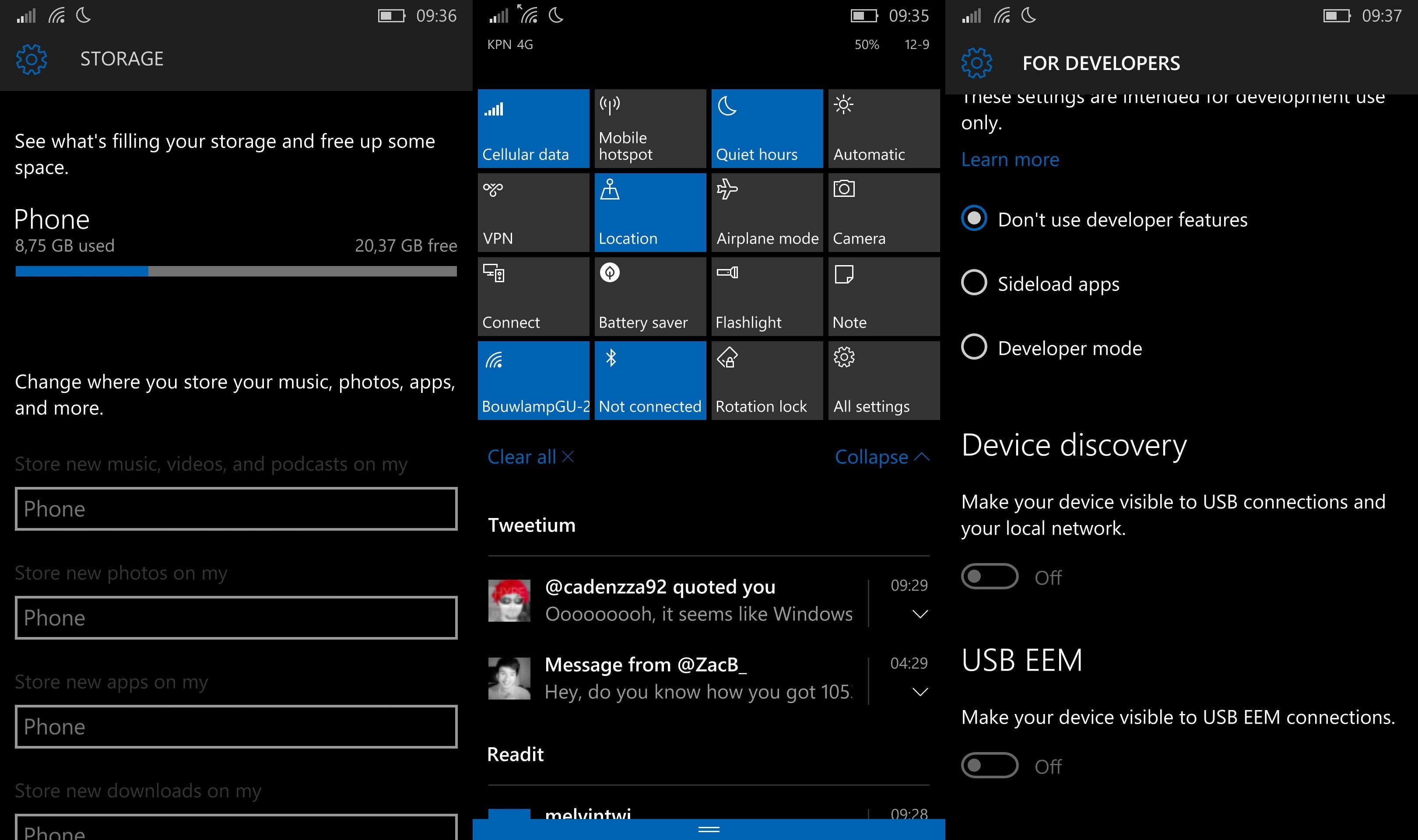Einige Insider haben den Windows 10 Mobile Build 10536 doch erhalten