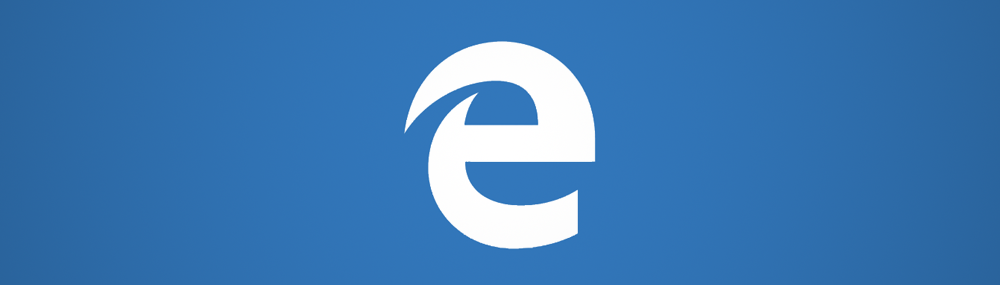 Microsoft Edge Browser breit