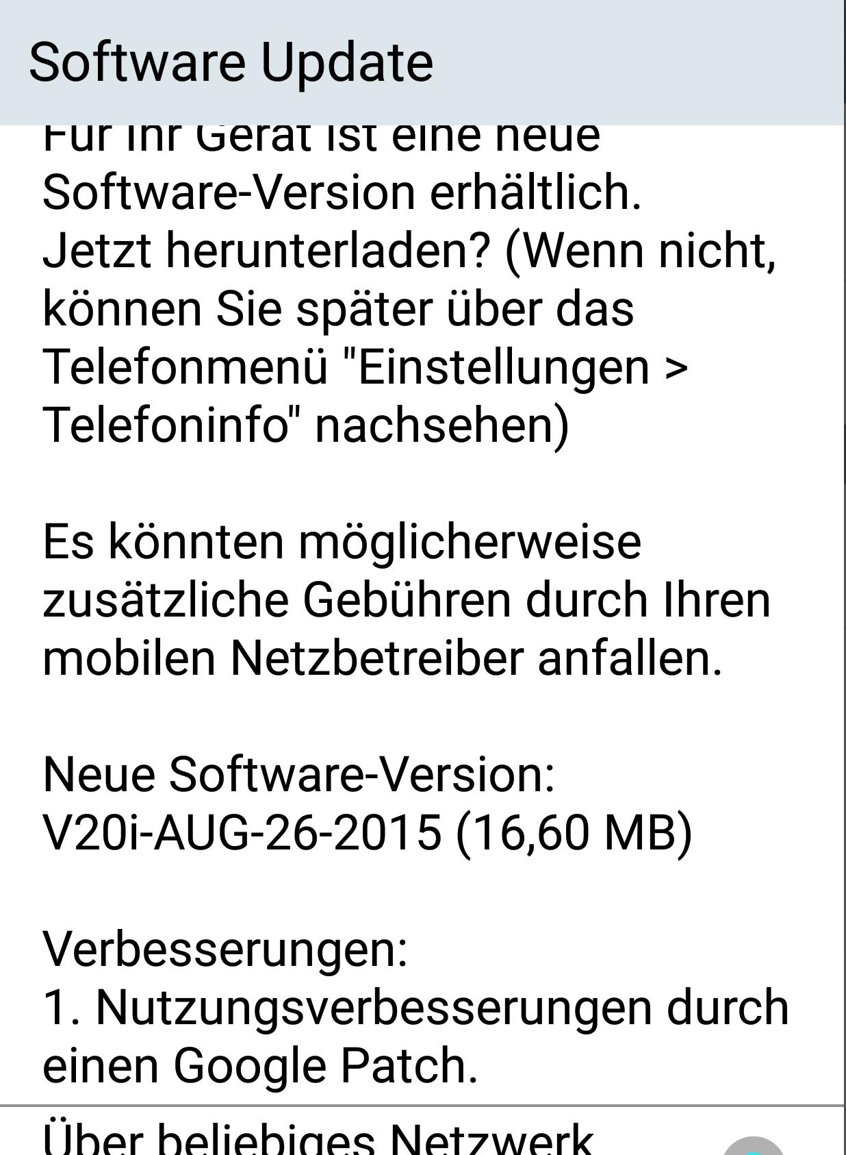 LG G3 mit Telekom-Branding erhält Update auf Version V20i