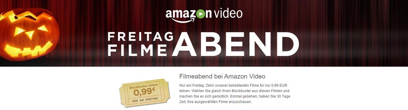 Amazon Video Freitag