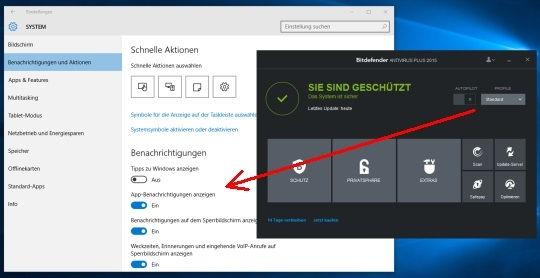 app-benachrichtigungen-grau-windows-10