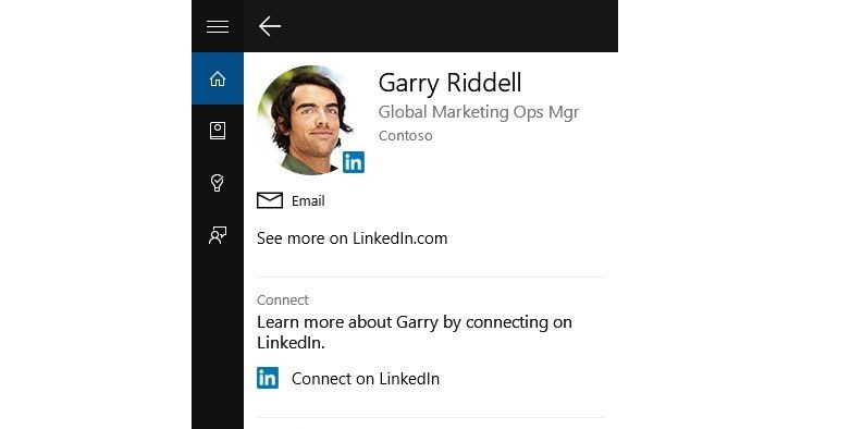 Microsoft integriert LinkedIn in Cortana