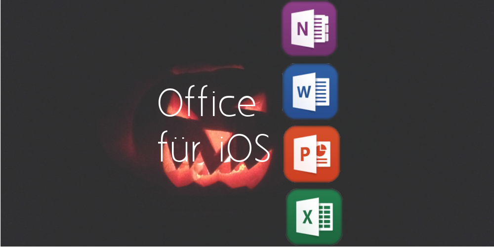Office für iOS Halloween