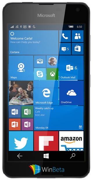 Mittelklasse-Lumia mit Frontlautsprechern zur CES 2016?