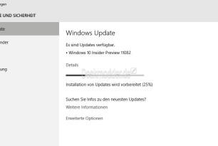 Windows 10 11082 Erste Redstone Preview steht zum Download bereit (Update2)