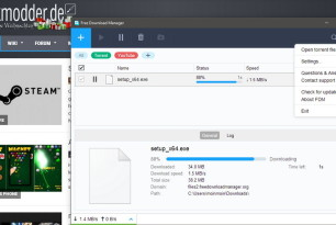 Free Download Manager 5.1 steht zum Download bereit