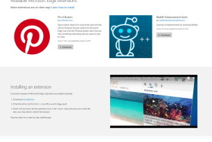 Microsoft Edge: Erste Erweiterungen sind aufgetaucht