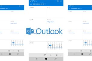 Outlook Mail und Kalender bekommen kleineres Update spendiert (Windows 10 Mobile)