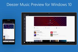 Deezer: Windows 10 Universal-App in Arbeit – Registrierung für Preview möglich