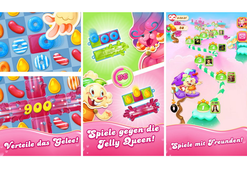 Candy Crush Neues Handy Booster Weg