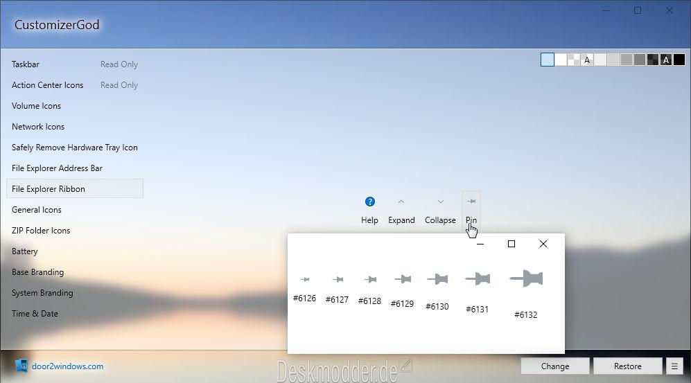 größe icons ändern windows 10