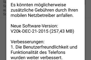 LG G3 mit Telekom-Branding erhält Update auf Version V20k