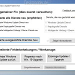 Windows Update Problem Fixer in der Version 2.6 nun auch in deutsch