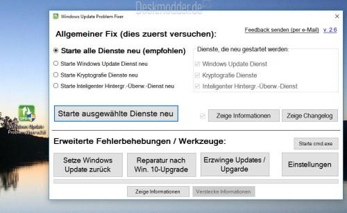 Windows Update Problem Fixer deutsch