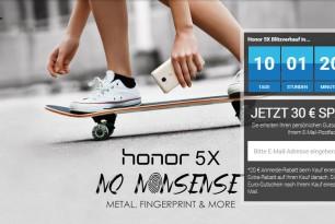 Honor 5X: Blitzverkauf am 4.Februar angekündigt