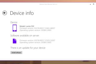 Microsoft Lumia 550: Neue Firmware per Windows Device Recovery Tool verfügbar