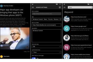 Newsflow – RSS Reader als Universal App