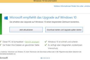 NoWin10.reg für Windows 7/8.1: Upgrade auf Windows 10 einfach verhindern