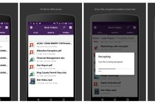 """Microsoft veröffentlicht """"Work Folders"""" App für Android"""