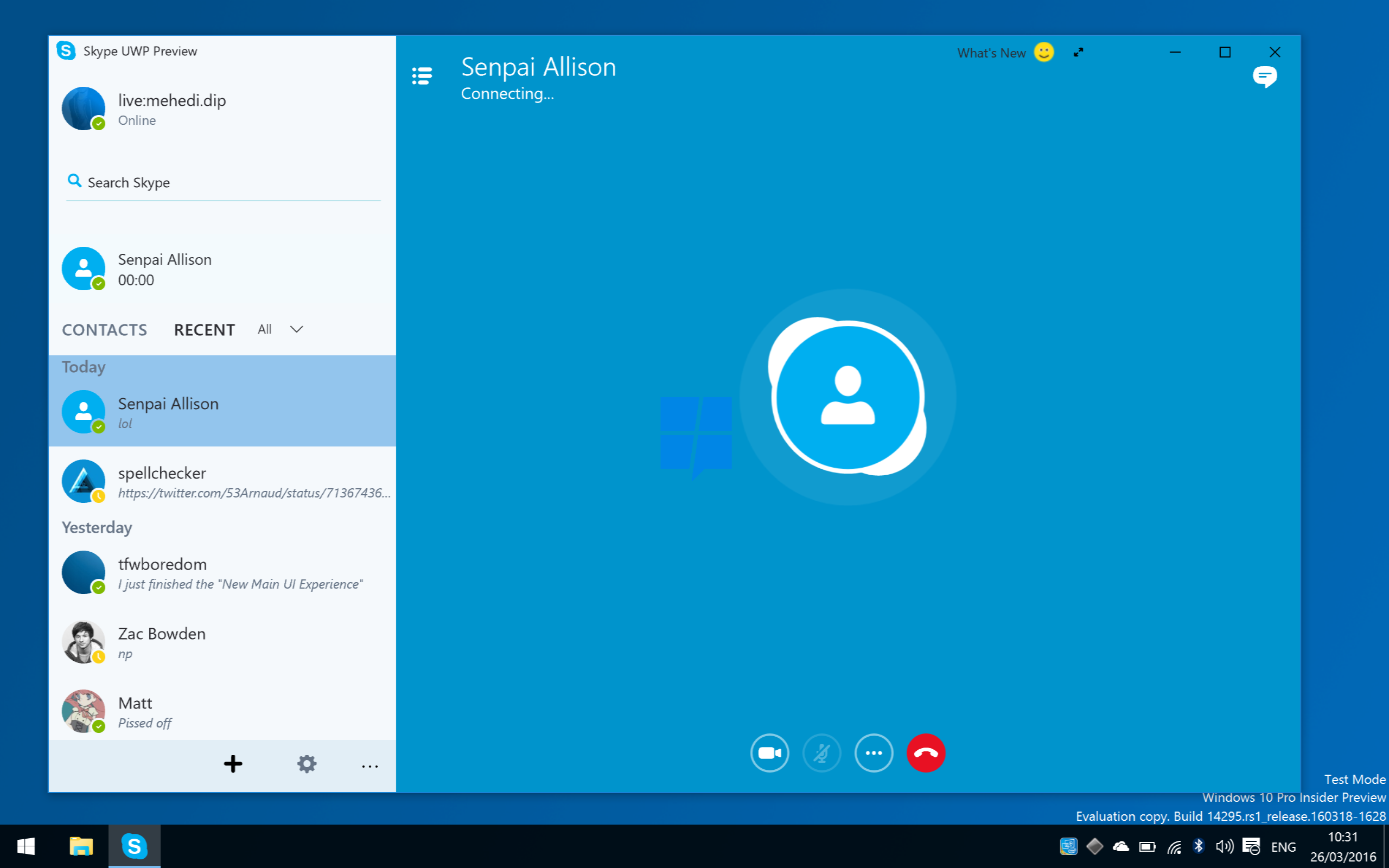 Skype For Windows Desktop