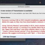 OSX: Ransomware KeRanger im Transmission BitTorrent Installer 2.90 enthalten