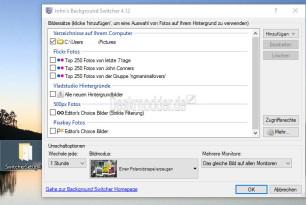 Background Switcher – Automatisch Wallpaper von Flickr, 500px, Instagram und anderen auf dem Desktop anzeigen lassen