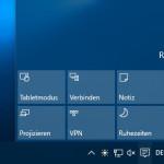 Windows 10: Das Info-Center wird in den nächsten Builds verbessert werden