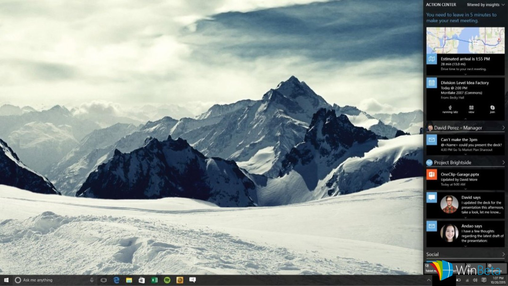 Windows 10 Redstone Info-Center
