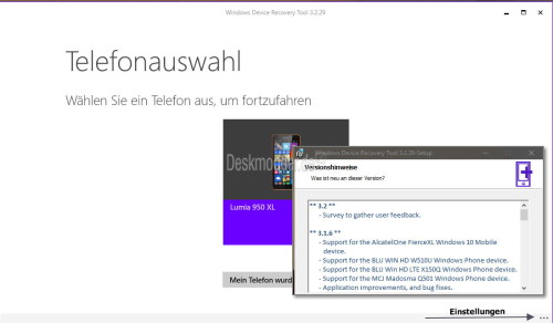 Windows Device Recovery Tool