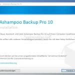 Ashampoo Backup Pro 10 – Kurz vorgestellt und Gewinnspiel