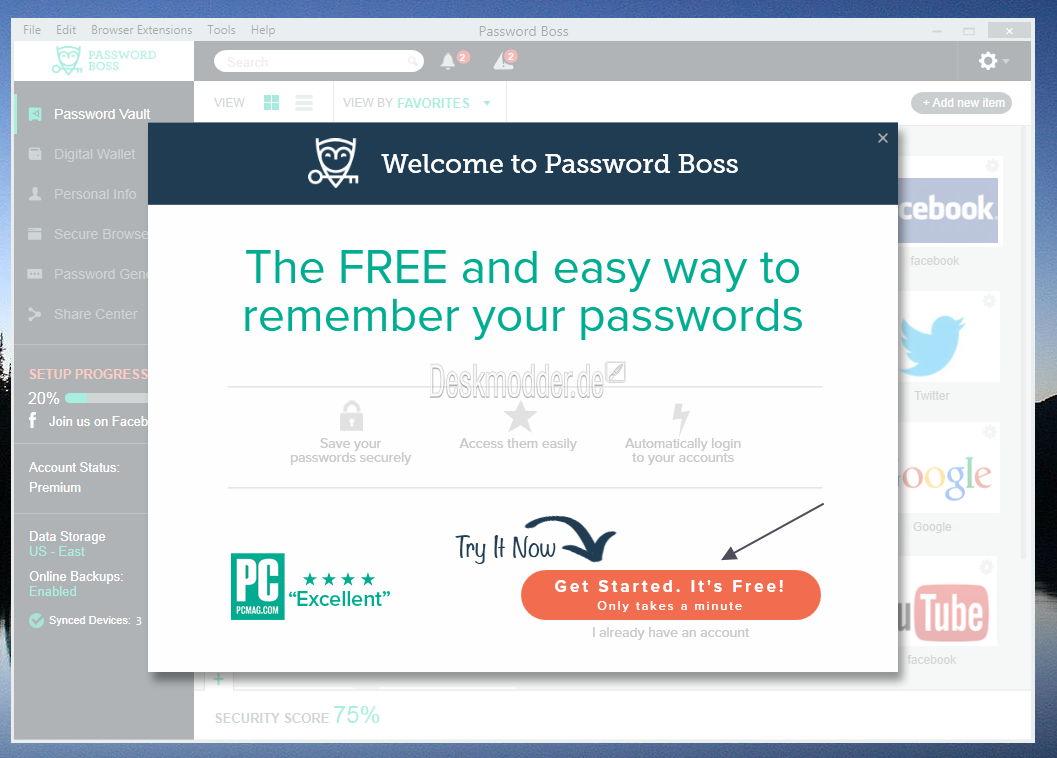 Password Boss - Kurz vorgestellt und Gewinnspiel | Deskmodder.de