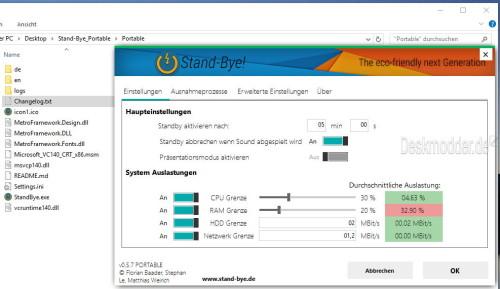 stand-bye-tool-windows-10-