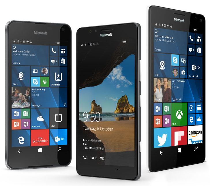 windows 10 mobile geraete