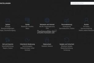 Dunkles Theme (Dark Theme) kommt als Auswahl in der Windows 10  Anniversary Update