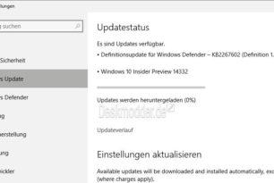 Windows 10 14332 steht zum Download bereit (Desktop Fast Ring)