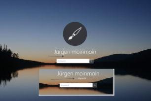 E-Mail Adresse im Anmeldebildschirm und Sperrbildschirm nun endlich deaktiviert