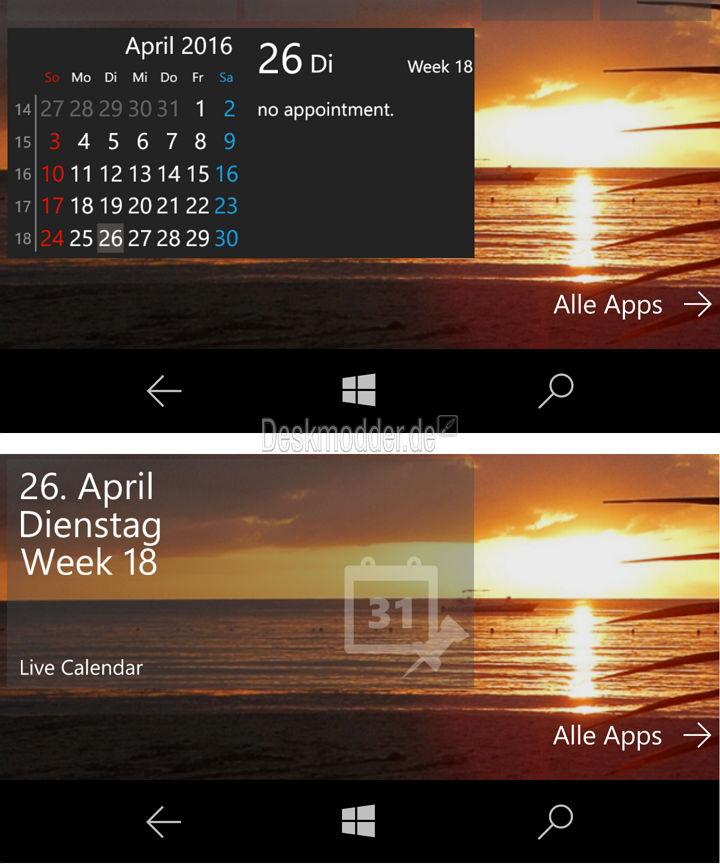 windows live kalender
